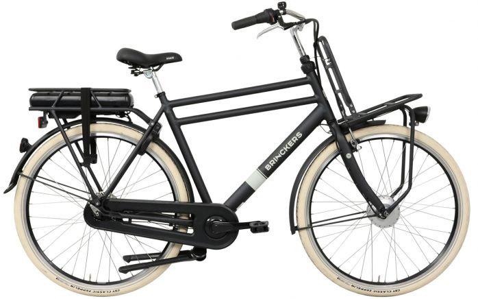 Brinckers Baxter Heren elektrische fiets 7V met voorwielmotor