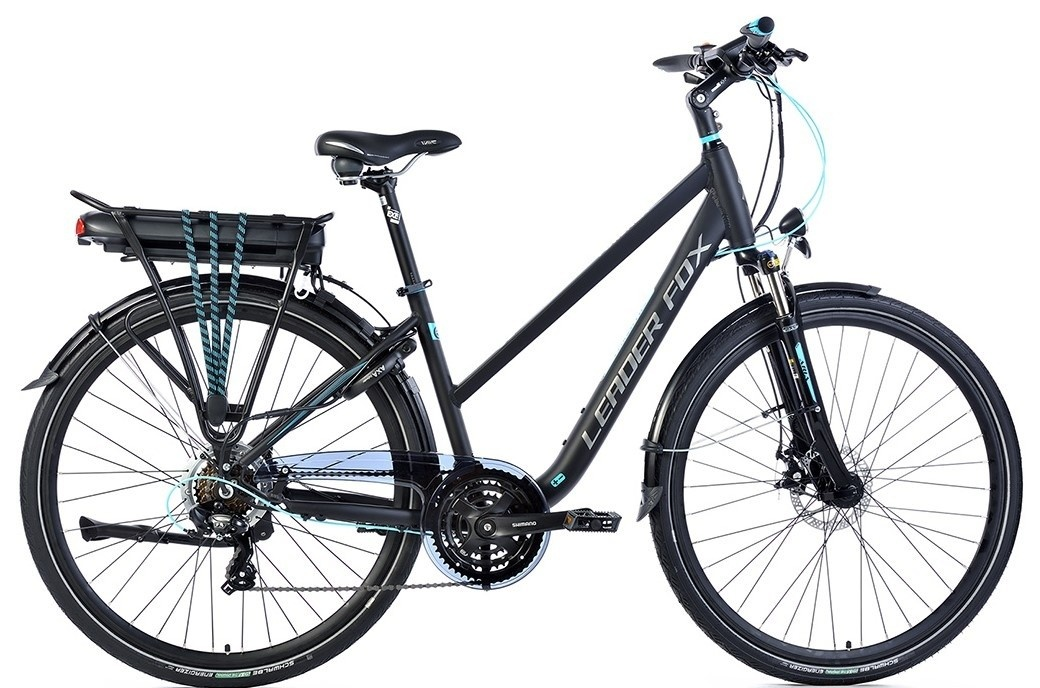 Leader Fox E-Bike Forenza Lady 21V met achterwielmotor