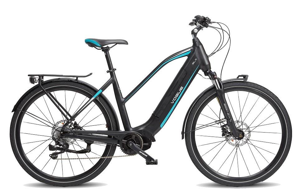 Vogue E-Bike SLX Dames 9 versnellingen met middenmotor