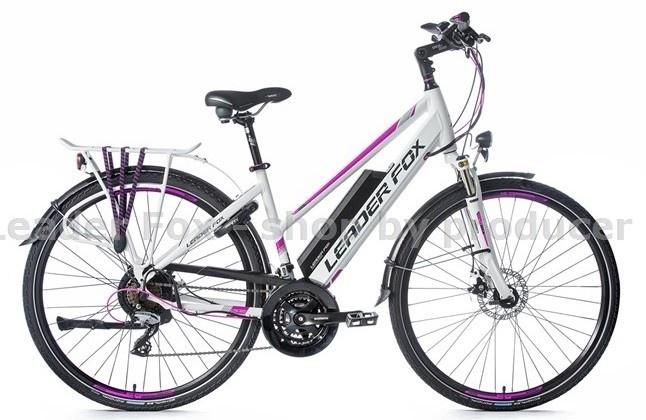 Leader Fox E-Bike Sandy Lady 21V met achterwielmotor