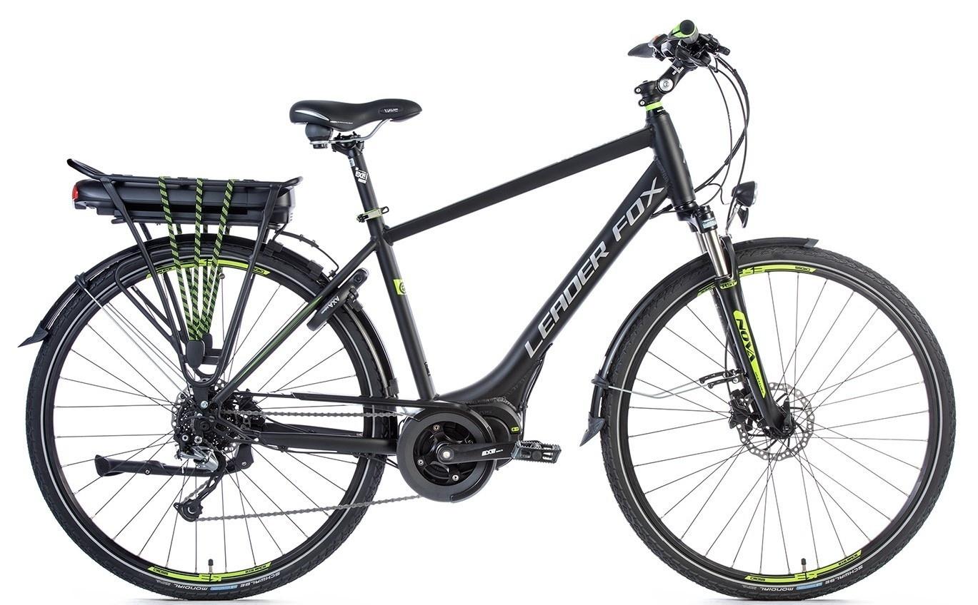 Leader Fox E-Bike Hasuda Gent 8V model 2018 met middenmotor