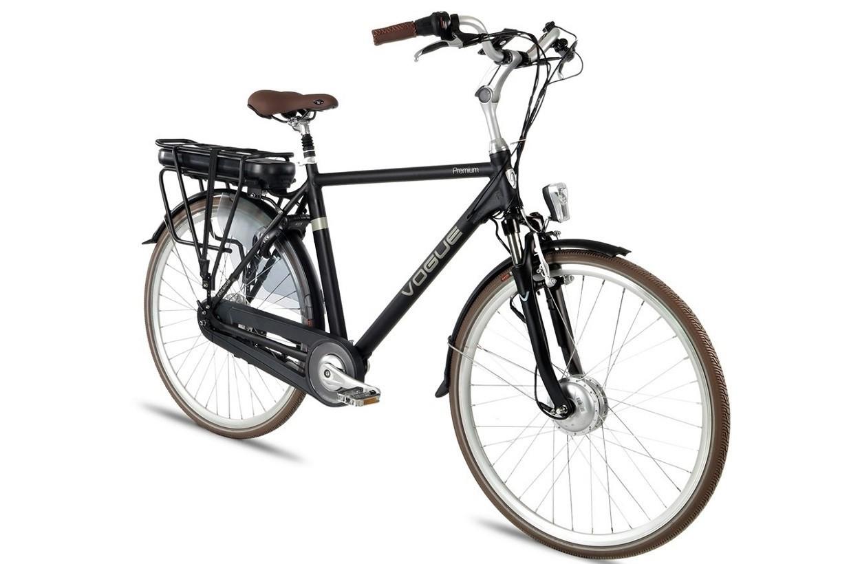 Vogue E-Bike Premium Heren 7 versnellingen met voorwielmotor