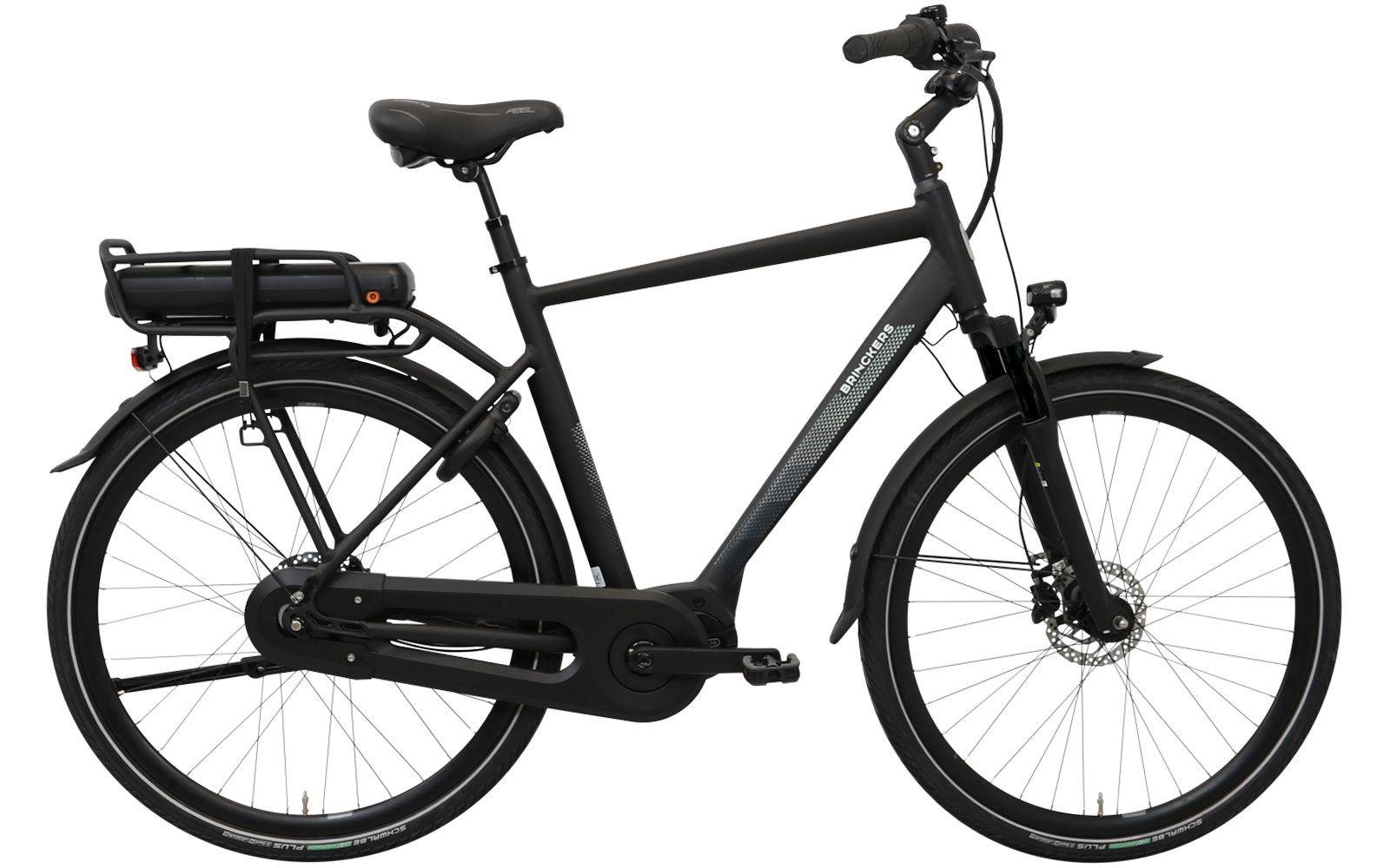 Brinckers Brisbane Heren elektrische fiets 8V met middenmotor