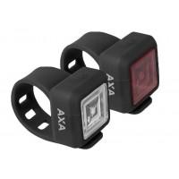 Foto van AXA Verlichtingsset Niteline 11 LED batterij zwart