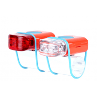 Foto van IKZI-Light Stripties LED set elastiek bev. oranje/blauw