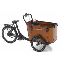 Foto van Vogue E-Bike Bakfiets Superior 3 Deluxe met middenmotor