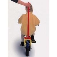 Foto van Balans trainer (begeleidstang) kinderfiets aan bagagedrager