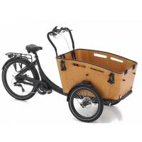 Foto van Vogue E-Bike Bakfiets Superior 3 met achterwielmotor