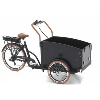 Foto van Vogue E-Bike Bakfiets Troy 7V met achterwielmotor