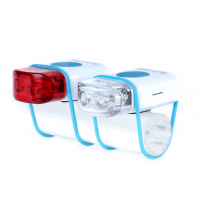 Foto van IKZI-Light Stripties LED set elastiek bev. wit/blauw