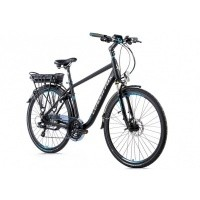 Foto van Leader Fox E-Bike Forenza heren 21V model 2019 met achterwielmotor
