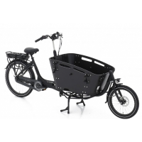 Foto van Vogue E-Bike Bakfiets Carry 2 met middenmotor