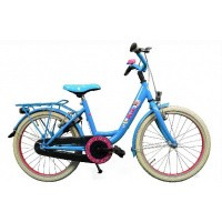 Foto van K3 Studio 100 meisjesfiets 20 inch blauw