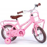Foto van Lief Girls roze 12 inch meisjesfiets 81217