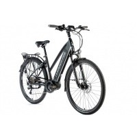 Foto van Leader Fox E-Bike Lucas Dames 9V model 2019 met middenmotor