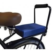 Foto van Flo en Zo fietskussen donkerblauw