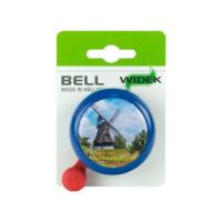 Foto van Fietsbel Nederland blauw met molen