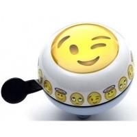Foto van Bel Ding Dong Emoticon Winking Face
