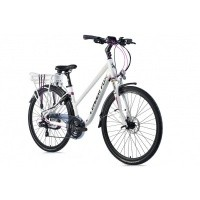 Foto van Leader Fox E-Bike Forenza dames 21V model 2019 met achterwielmotor