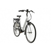 Foto van Rivel Seattle E-bike 10V Deore Zilver met middenmotor
