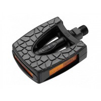 Foto van Union kinder pedalen SP-833 anti-slip zwart/grijs