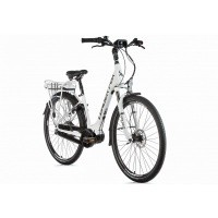 Foto van Leader Fox E-Bike Neba City 8V model 2019 met middenmotor