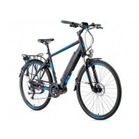 Foto van Leader Fox E-Bike Denver Gent 8V model 2018 met middenmotor