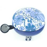 Foto van Bel Ding-Dong Delfts blauw bloemen glans