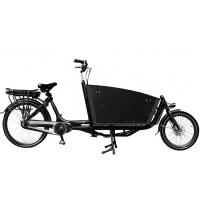 Foto van Vogue E-Bike Bakfiets Carry 7V twee wielen met middenmotor