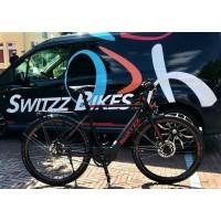 Foto van Switzz Apace E-Bike heren 8V model 2019 met middenmotor