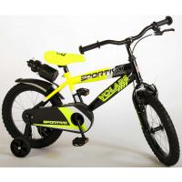 Foto van Volare Sportivo kinderfiets jongens 16 inch Neon Geel Zwart