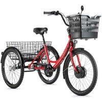 Foto van Leader Fox E-Bike E-Tricycle Lovelo Driewieler