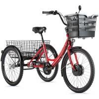 Foto van Leader Fox E-Bike E-Tricycle Lovelo Driewieler