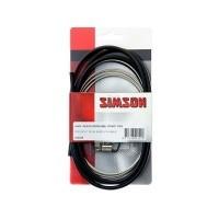 Foto van 020229 Simson Remkabelset Shimano Nexus Rollerbrake zwart