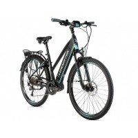 Foto van Leader Fox E-Bike Denver dames 8V model 2019 met middenmotor