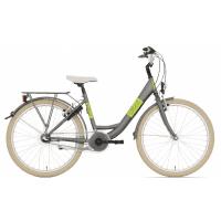 Foto van Bike Fun Blizz 3 versnellingen 24 inch mat groen