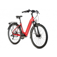Foto van Leader Fox E-Bike Saga 8V met middenmotor