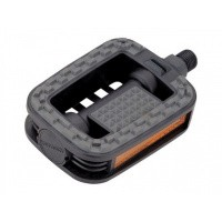 Foto van Union / Marwi pedalen SP-807 anti-slip zwart/grijs