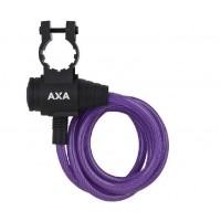Foto van AXA Spiraalkabelslot Zipp 120cm/8mm (diverse kleuren)