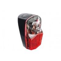 Foto van AXA Achterlicht Run compact batterij aan/uit