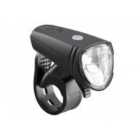 Foto van AXA Greenline LED Koplamp 15 Lux USB-Oplaadbaar
