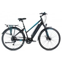 Foto van Leader Fox E-Bike Denver Lady 8V model 2018 met middenmotor