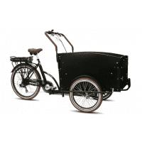 Foto van Vogue E-Bike Bakfiets Troy 7V drie wielen met achterwielmotor