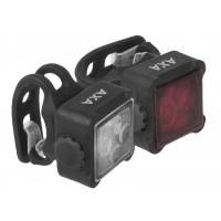 Foto van AXA Verlichtingsset Niteline 44-R LED USB oplaadbaar
