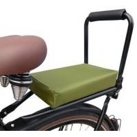 Foto van Flo en Zo fietskussen leger groen