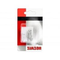 Foto van Simson Binnenkabel eindhuls aluminium p/10 021800