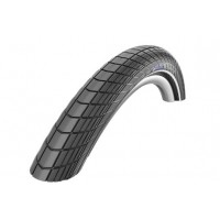 Foto van Buitenband Schwalbe 28x2.00 (50-622) Big Apple K-Guard Zwart