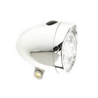 Foto van IKZI-Light Retro batterijen 3xLed koplamp chroom