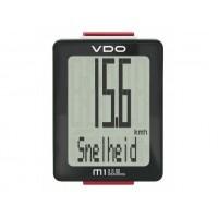 Foto van Fietscompoter VDO M1.1 WL draadloos calorieen meting