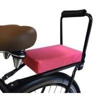Foto van Flo en Zo fietskussen roze